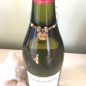 🤎Boho Wine Bottle Charm